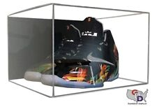 Shoe Acrylic Display Case Wall Mount Small Uv Pair Basketball Football B