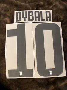 Flocage Officiel Juventus 2018/2019 Dybala Adulte