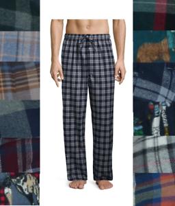 Stafford Mens Pajama Sleep Pants Flannel Cotton Soft Plaid size S M L XL XXL NEW