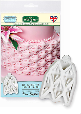 Katy Sue Designs Easy Fabric Puff Silcone Mould Cake Decorating Cake Mold Ebay