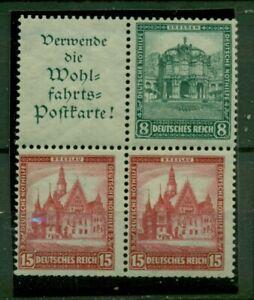 Deutsches-Reich-Hindenburg-Nr-S-96-W-88-postfrisch