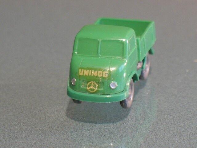 █► UNIMOG (1b) fermé avec schlepploch publicitaires Wiking vitres 1 87 TOP