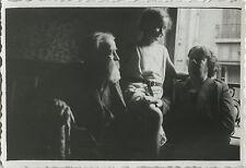 PHOTO ANCIENNE - VINTAGE SNAPSHOT - GÉNÉRATION FENÊTRE CONTREJOUR - WINDOW 1934