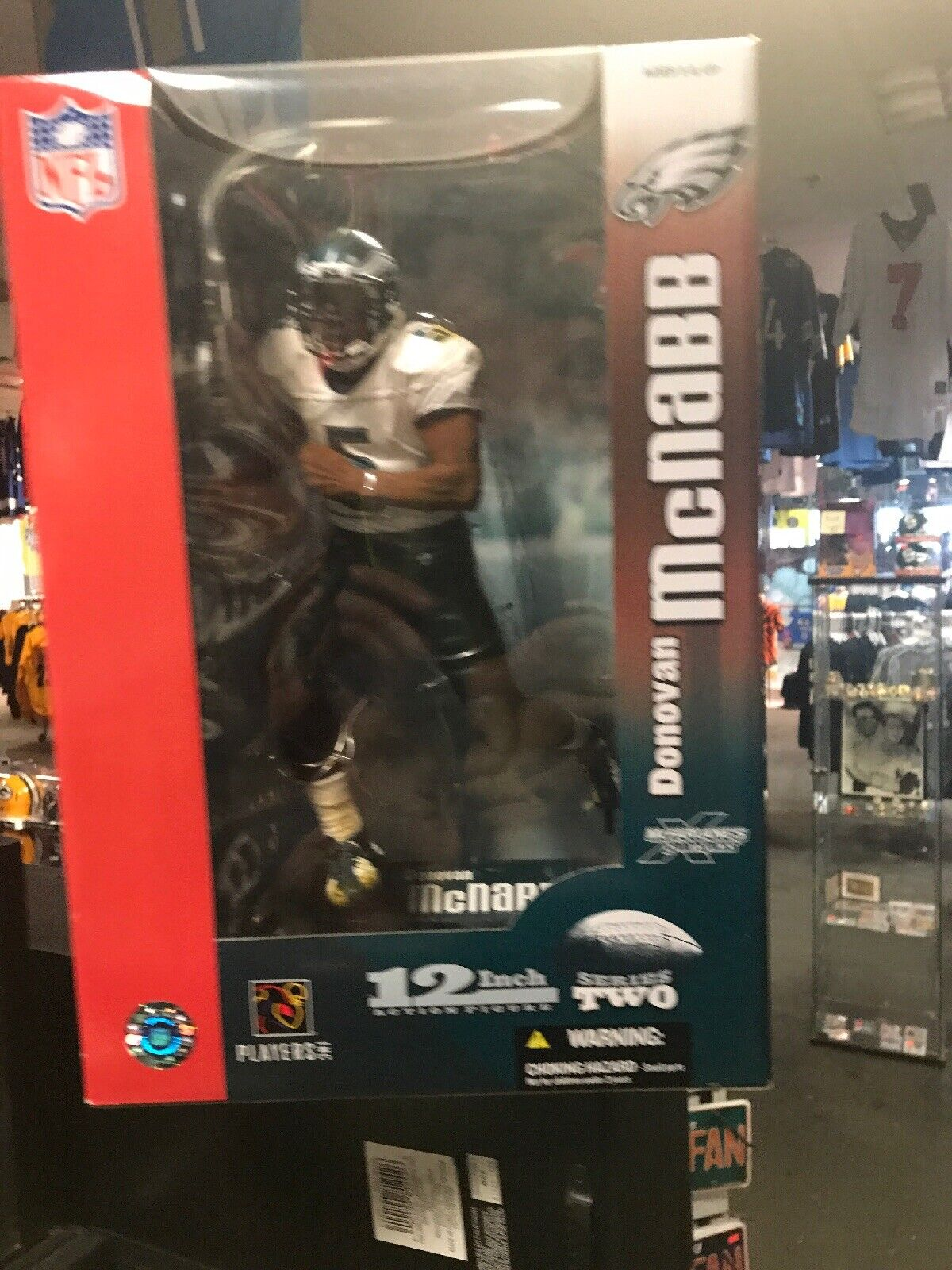 Eagles QB QB QB Donovan McNabb NFL 12 Inch Series2 McFarlane Sports 2004 NM+ 162a95
