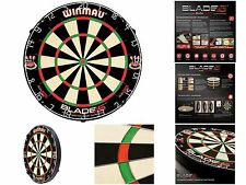 New Latest Winmau Blade 5 Dual Core Professional Bristle Dartboard As Seen on TV