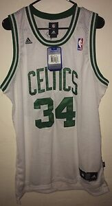 Ropa Deportiva Unisex Camiseta GEXING Paul Pierce # 34 Boston Celtics Baloncesto Jersey Neta