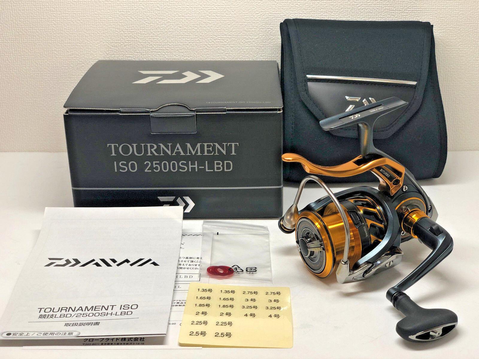 Daiwa Torneo ISO 2500SH-LBD - Envío gratuito desde Japón