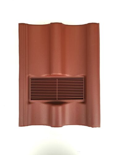 Roof Tile Vent To Fit Marley Mendip Redland Grovebury Double PantileRed