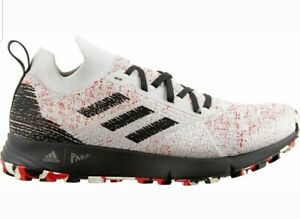 Details about Adidas TERREX TWO PARLEY Mens Shoes RUNNING OUTDOOR CORE White and Red Size 9.5
