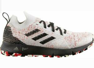Consciente de De todos modos Honesto  Adidas TERREX TWO PARLEY Mens Shoes RUNNING OUTDOOR CORE White and Red Size  9.5 193103869503 | eBay