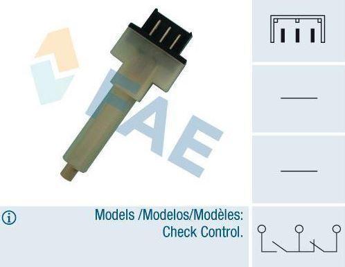 Interruptor de Freno Seat Malaga SE-023952000 D 24290 fae