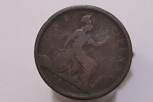 UK-GB-PENNY-1870-VICTORIA-SCARCE-B29-K5478