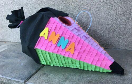 Piñata Schultüte XXL Geschenk Einschulung Zuckertüte Pastelltöne Wunschgrösse