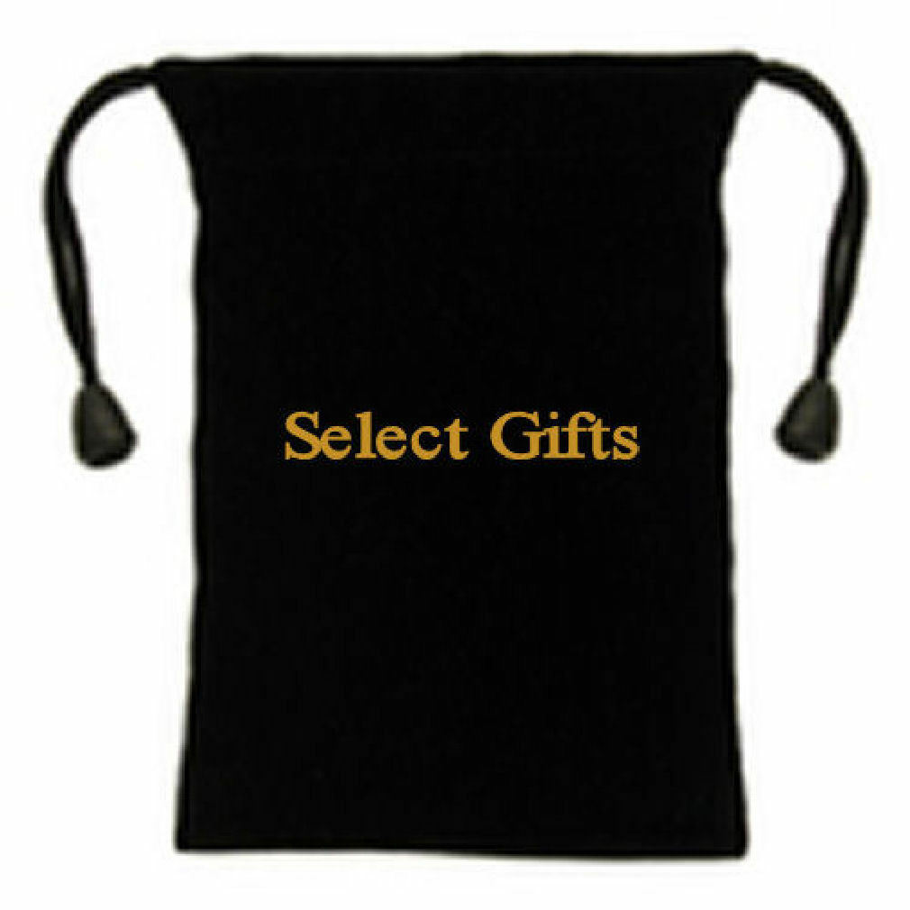 Viola Viola Viola Carry On oro Quadrato Gemelli Camicia con Select Gifts Astuccio 327357