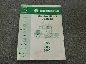 [SCHEMATICS_4JK]  1996-1998 International 9200 Truck Electrical Wiring Diagrams Manual 1997 |  eBay | 1997 International 9400i Wiring Diagrams |  | eBay