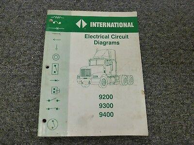 [DIAGRAM_3US]  1996-1998 International 9200 Truck Electrical Wiring Diagrams Manual 1997 |  eBay | International Wiring Diagrams |  | eBay