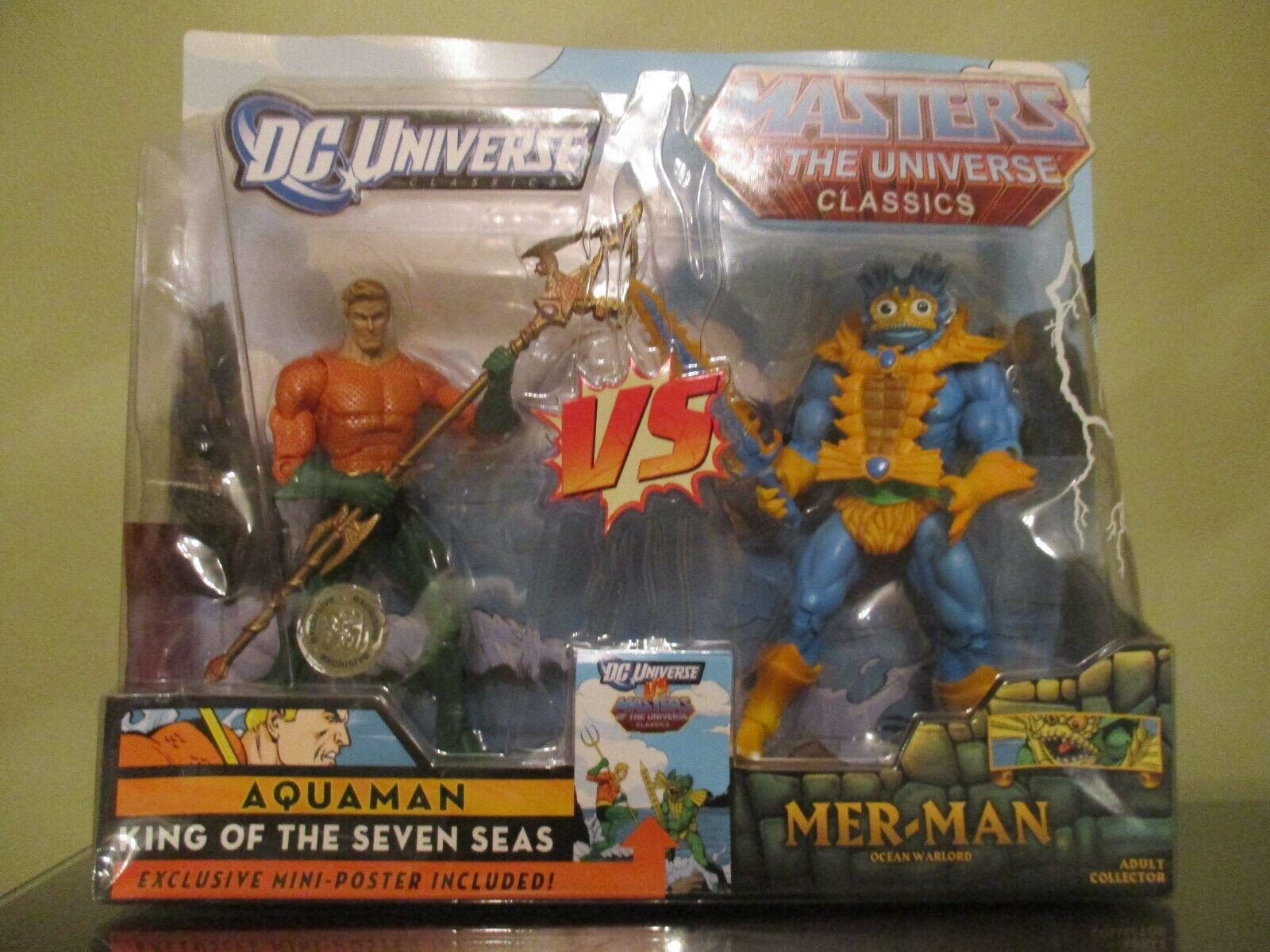 DC Amos del universo clásicos Aquaman Vs Mer-man Juguetes R Us Exclusivo