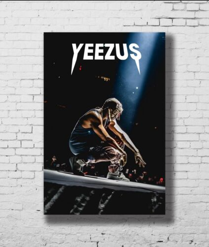 21 24x36in P-696 Art Kanye West Rap Music Star Yeezus LW-Canvas Poster