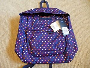 Details about JanSport SuperBreak Backpack Lifetime Warranty Sale New NWT  Purple Spotara
