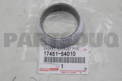 1745154010 Genuine Toyota GASKET EXHAUST PIPE 17451-54010