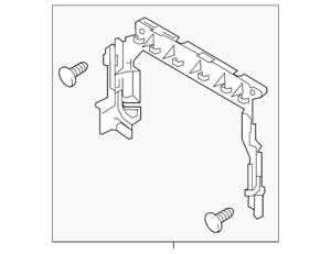 Genuine Ford Air Deflector FB5Z-8326-D