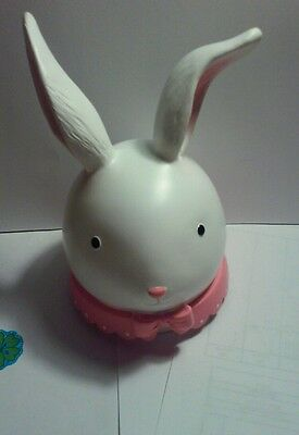 Yankee Candle Bunny Head jar topper easter rabbit so adorable