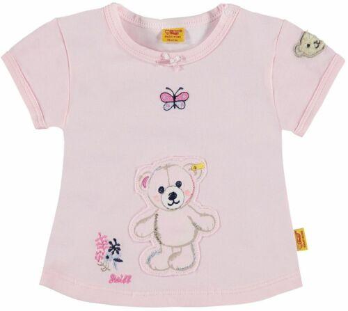 """STEIFF® Baby Mädchen T-Shirt /""""Little Cutie/"""" Rosa 68 74 80 86 Frühling 2017 NEU!"""