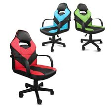 Silla de oficina racing gaming giratoria ajustable deportiva despacho
