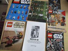 7 x LEGO Star Wars Poster, Buch, Heft, Flyer