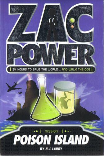 1 of 1 - ZAC POWER - Poison Island by H.I. Larry