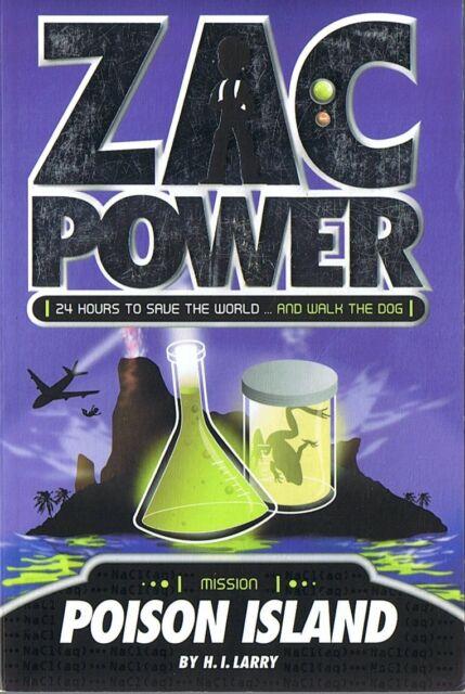 ZAC POWER - Poison Island by H.I. Larry