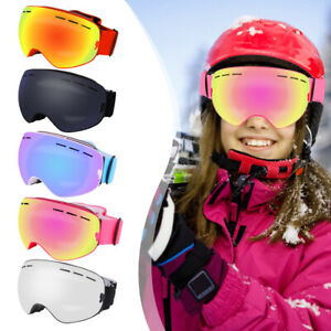 Outdoor-Skibrille-Double-Layers-UV400-Windproof-Brille-fuer-Snowboard-Skifahren