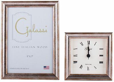 F Galassi Handmade Fine Italian Wood  Traditional Silver 8x10 13880 G
