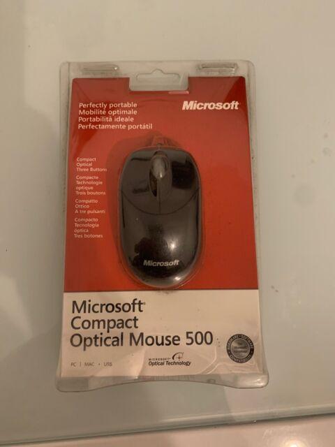 MICROSOFT Mouse Compact Optical 500 Nero
