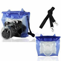 DSLR SLR Camera Waterproof Underwater Housing Case Pouch Bag For Canon Nikon 1Pc