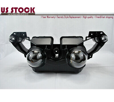 R1 Headlight Head Lamp Assembly Motorcycle For Yamaha YZF R1 2009 2010 2011 US