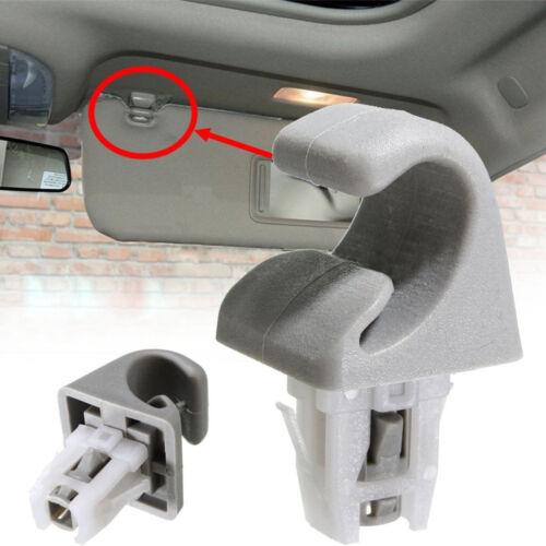 1Pc Sun Visor Clip Hook Bracket For Toyota Camry Corolla Highlander Prius RAV4 W