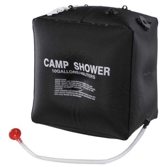 Solardusche 18 Liter Pool Garten Pooldusche Campingdusche Rohr 2tlg Gartendusche