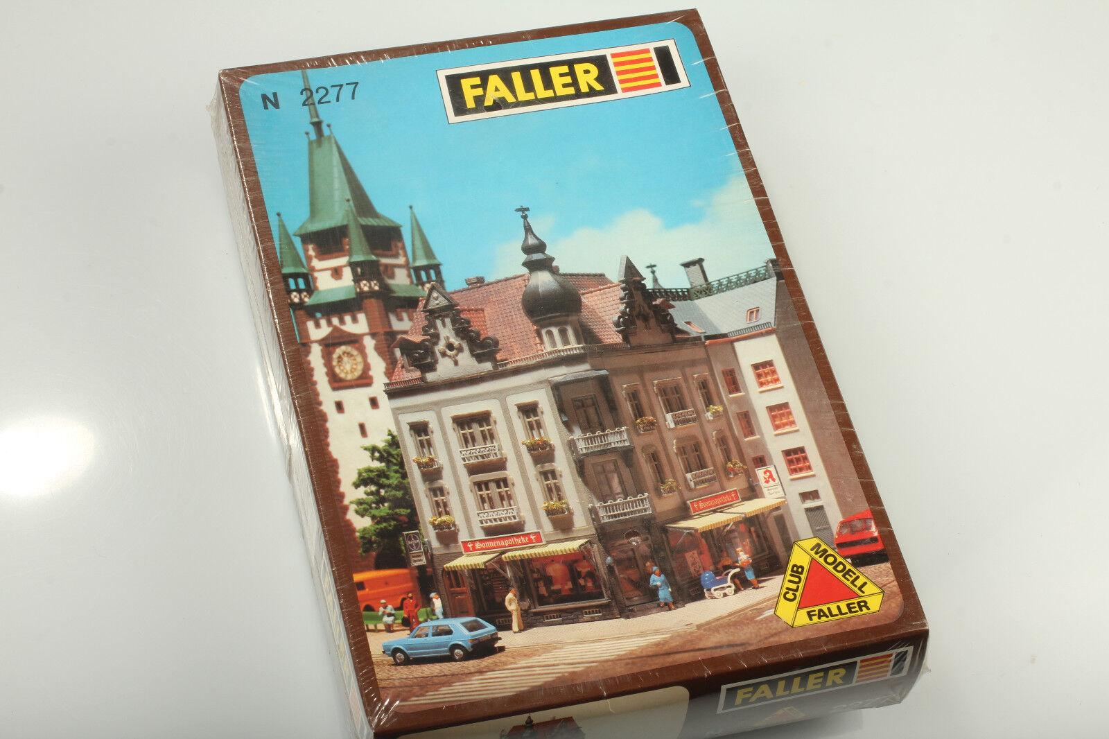 Faller N 2277 town house Corner house Sun Pharmacy BNIB RAILWAY PRIVATE STASH