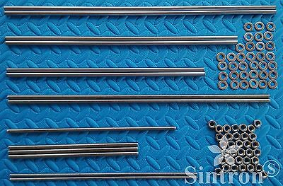 3D Printer Smooth & Threaded Rods + Nuts Kit Rework Shaft for Reprap Prusa i3