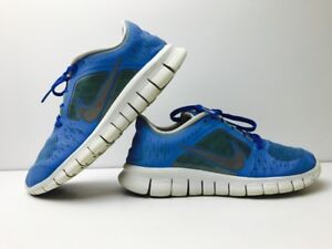 new style 59426 dc5a3 Image is loading Nike-Free-Run-3-Kids-Blue-Training-Running-