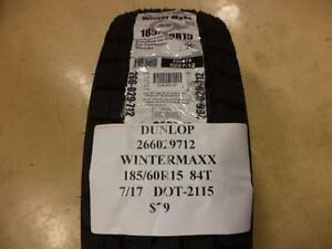 1-NEW-DUNLOP-WINTERMAXX-185-60-15-84T-WINTER-TIRE-266029712-Q9