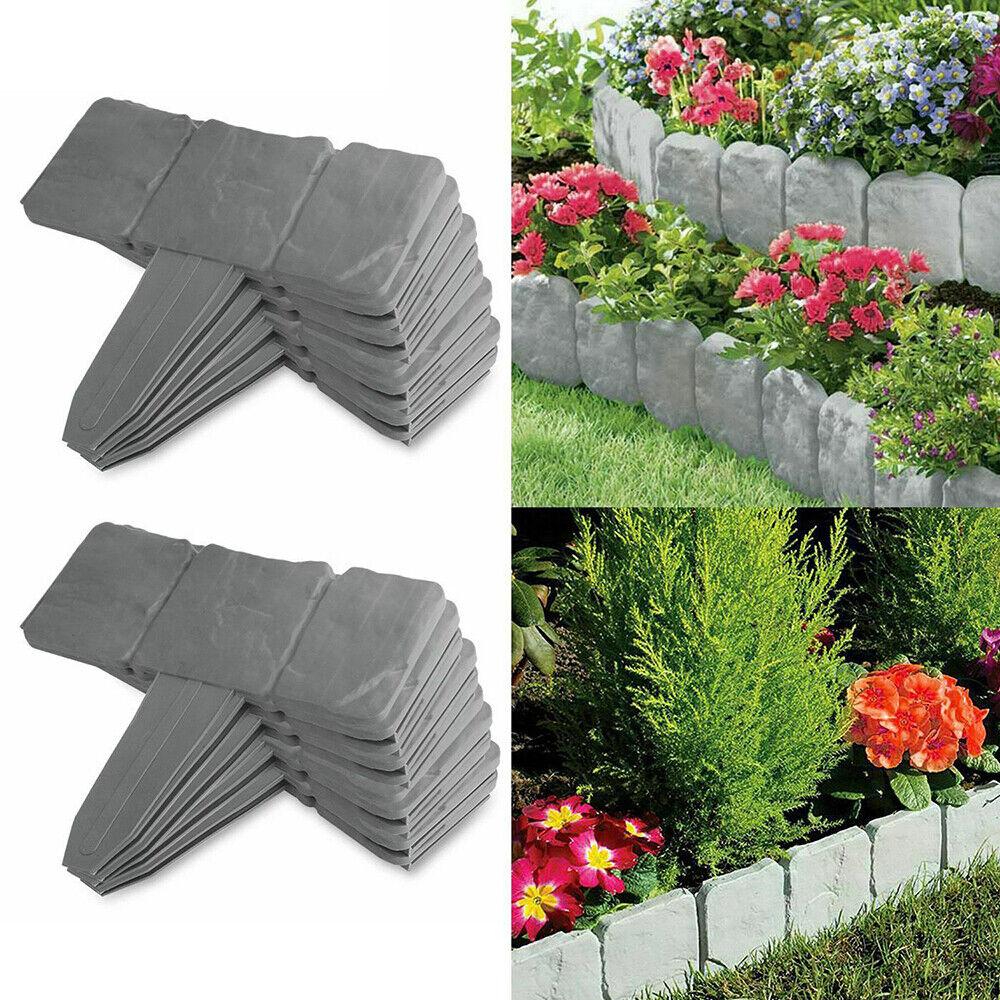 Garden Border Fence Decorative Flower Bed Edging Metal Landscape Panel Trellises For Sale Online Ebay