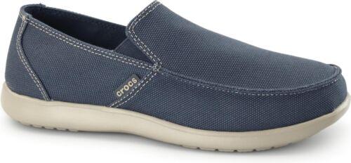 Crocs 202972 Santa Cruz Clean Cut Hommes Toile À Enfiler Mocassin Mocassins Chaussures