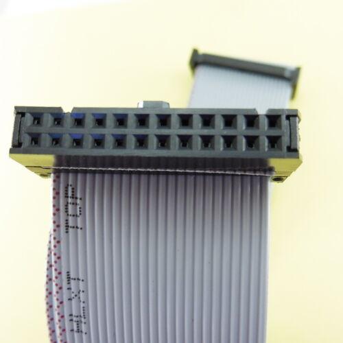 24 Pin Flat Ribbon Cable 30 cm 2 x 12 holes Pitch 2.54 mm Length 300 mm
