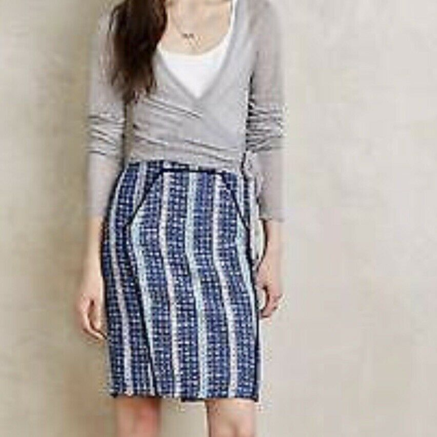 Anthropologie Women's Eva Franco Embarcadero Skirt Size 6 Retail