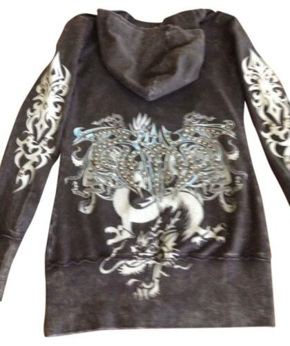 Couture Nwt Med Galore Krystaller Size Jacket Black S Bejeweled RqxTwnfqS