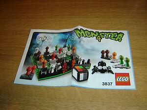 Le Monster 4 Instruction Lego Et Jeux 3837 Afficher Jouets Book 2EWD9YHI