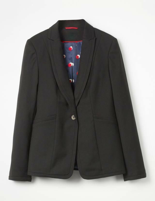 Ex Boden Noir Claremont Blazer veste Taille 12