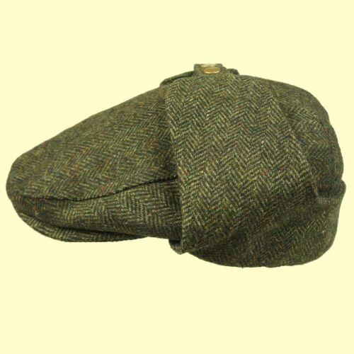 Bugatti Cap Earflap Cappello di Tweed-OPEN SOFT TOP CAR Cap SHOOTING Cap Mr Toad Cap!